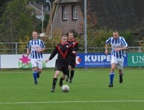 Sportclub 1 speelt eenzijdige wedstrijd in Lemele