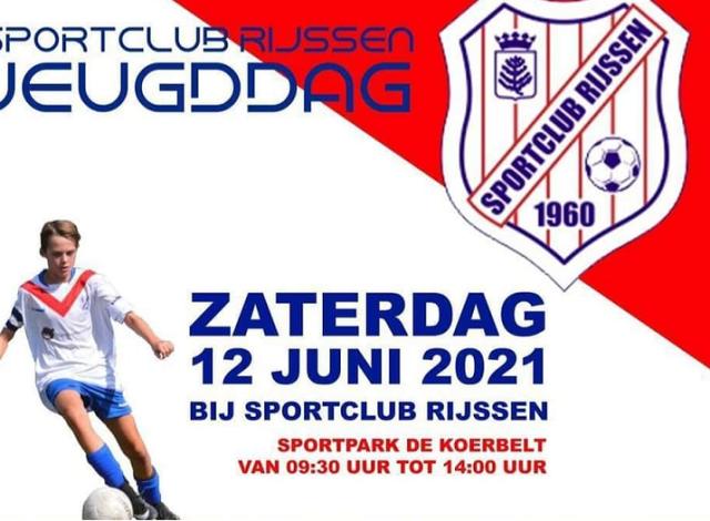 12 juni: Sportclub Rijssen jeugd dag!
