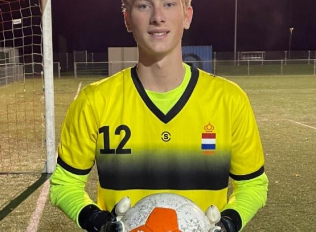 Maarten-Jan de Jong geselecteerd voor Nederlands Doven Elftal